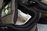 Зимние мужские кроссовки 31773, Columbia Contagrip, зеленые, [ нет в наличии ] р. 41-26,5см., фото 6