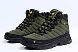 Зимние мужские кроссовки 31773, Columbia Contagrip, зеленые, [ нет в наличии ] р. 41-26,5см., фото 7