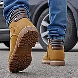 Зимние мужские ботинки 31846, Camel (на меху, в коробке), песочные, [ 41 44 ] р. 41-27,0см., фото 5