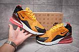 Кроссовки мужские 13425, Nike Air Max 270, оранжевые, [ ] р. 42-26,0см., фото 2