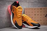 Кроссовки мужские 13425, Nike Air Max 270, оранжевые, [ ] р. 42-26,0см., фото 3