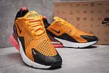 Кроссовки мужские 13425, Nike Air Max 270, оранжевые, [ ] р. 42-26,0см., фото 5