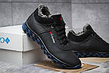 Зимние мужские ботинки 30694, Columbia Track II, черные, [ 40 45 ] р. 40-26,6см., фото 5