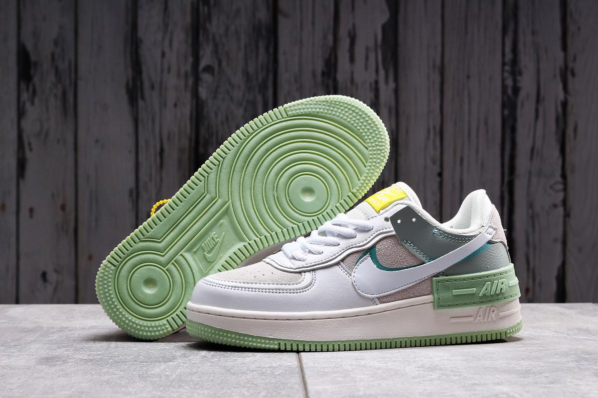 Кроссовки женские 20023, Nike Air Force 1, белые, [ 36 37 ] р. 36-22,5см.