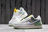 Кроссовки женские 20023, Nike Air Force 1, белые, [ 36 37 ] р. 36-22,5см., фото 3