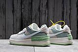 Кроссовки женские 20023, Nike Air Force 1, белые, [ 36 37 ] р. 36-22,5см., фото 4