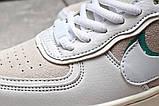 Кроссовки женские 20023, Nike Air Force 1, белые, [ 36 37 ] р. 36-22,5см., фото 7