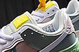 Кроссовки женские 20023, Nike Air Force 1, белые, [ 36 37 ] р. 36-22,5см., фото 8