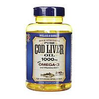 Биологически активная добавка Holland & Barrett Cod Liver Oil 1000 mg, 120 шт.
