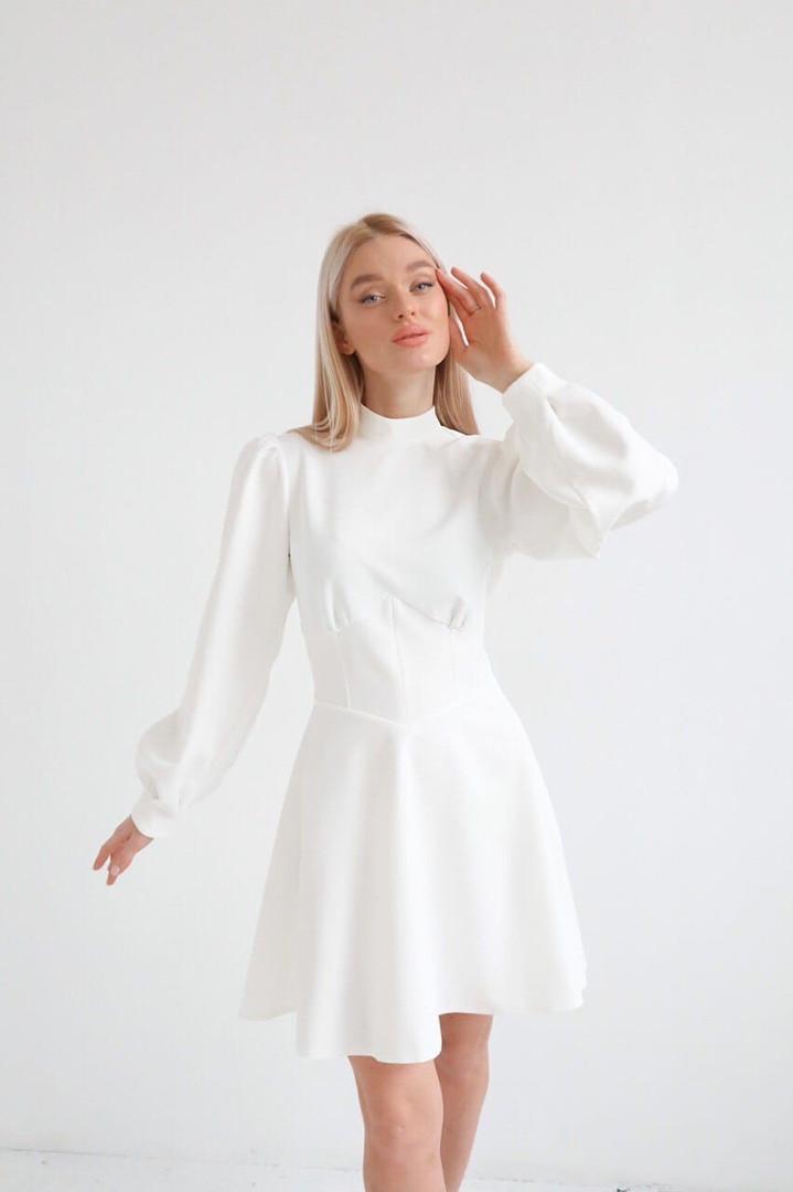 Красивое женское платье, ткань: костюмная. Размер: С-М. Разные цвета  (274)