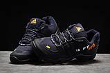 Зимние мужские кроссовки 31251, Adidas 465, темно-синие, [ нет в наличии ] р. 41-26,3см., фото 3