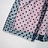 Платье нарядное для девочки р.104,110,116,122 SmileTime Angel, синее с белым, фото 3