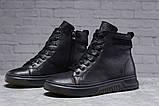 Зимние мужские ботинки 31512, Philipp Plein (мех), черные, [ 40 42 43 44 ] р. 40-26,5см., фото 2