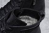 Зимние мужские ботинки 31512, Philipp Plein (мех), черные, [ 40 42 43 44 ] р. 40-26,5см., фото 6