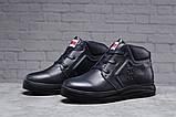Зимние мужские ботинки 31521, Tommy Hilfiger Denim (мех), темно-синие, [ 40 41 44 ] р. 40-26,5см., фото 2