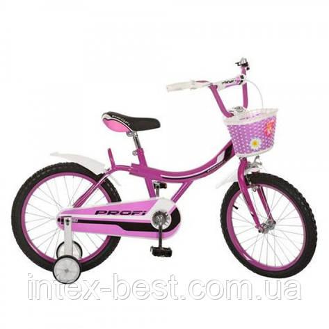 Детский двухколесный велосипед PROFI 16д (Арт.16BX406-1),пурпурный, фото 2