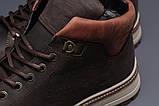 Зимние мужские ботинки 31611, Levi's (мех), коричневые, [ ] р. 43-28,5см., фото 5