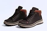 Зимние мужские ботинки 31611, Levi's (мех), коричневые, [ ] р. 43-28,5см., фото 6