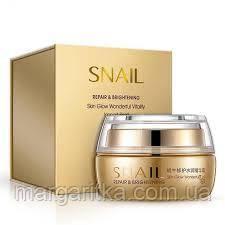 Крем для лица Bioaqua Snail Repair & Brightening с муцином улитки Биоаква