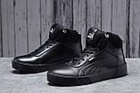 Зимние мужские кроссовки 31691, Puma Desierto Sneaker, черные, [ нет в наличии ] р. 43-28,0см., фото 2