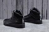 Зимние мужские кроссовки 31691, Puma Desierto Sneaker, черные, [ нет в наличии ] р. 43-28,0см., фото 3