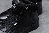 Зимние мужские кроссовки 31691, Puma Desierto Sneaker, черные, [ нет в наличии ] р. 43-28,0см., фото 5