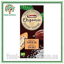 Шоколад 70% какао с морской солью Torras Organic, 100 г
