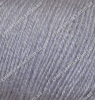 Нитки Alize Baby Wool 119 серое небо