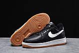 Зимние мужские кроссовки 31733, Nike Air AF1 (мех), черные, [ 41 42 ] р. 41-26,0см., фото 3