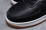 Зимние мужские кроссовки 31733, Nike Air AF1 (мех), черные, [ 41 42 ] р. 41-26,0см., фото 5