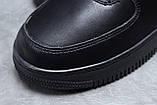 Зимние мужские кроссовки 31735, Nike Air AF1 (мех), черные, [ 41 44 45 ] р. 41-26,0см., фото 5
