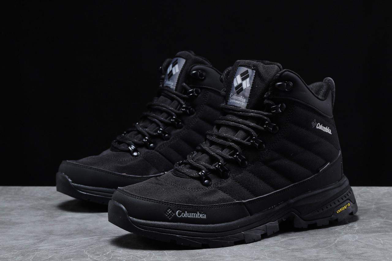 Зимние мужские кроссовки 31772, Columbia Contagrip, черные, [ 44 ] р. 44-28,5см.