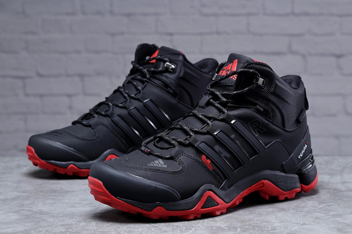 Зимние мужские кроссовки 31785, Adidas Terrex Gore Tex, черные, [ 41 43 45 ] р. 41-26,5см.