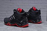 Зимние мужские кроссовки 31785, Adidas Terrex Gore Tex, черные, [ 41 43 45 ] р. 41-26,5см., фото 2
