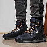 Зимние мужские ботинки 31911, Diesel Denim Devision, темно-синие, [ 40 42 43 44 ] р. 40-26,5см., фото 4