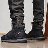 Зимние мужские ботинки 31911, Diesel Denim Devision, темно-синие, [ 40 42 43 44 ] р. 40-26,5см., фото 5