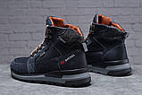 Зимние мужские ботинки 31911, Diesel Denim Devision, темно-синие, [ 40 42 43 44 ] р. 40-26,5см., фото 7