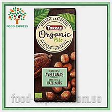 Шоколад 70% какао с фундуком Torras Organic, 100г