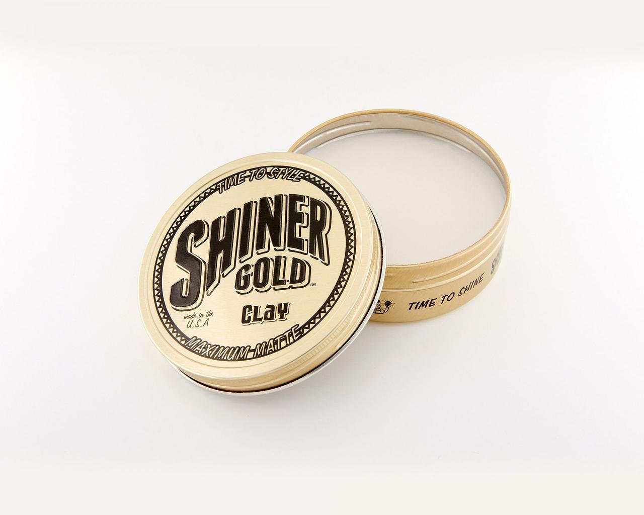 Глина для укладки волос Shiner Gold Matte Clay 112г
