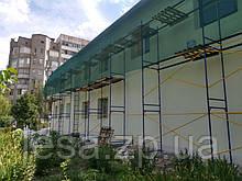 Будівельні рамні риштування комплектація 8 х 3 (м)