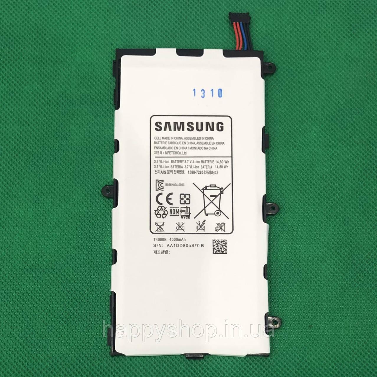 Оригинальная батарея для Samsung P3200/P3210 (T4000E)