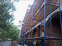 Строительные рамные леса комплектация 10 х 6 (м), фото 2