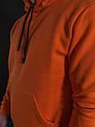 Мужской Худи Mono Orange Флис, фото 3