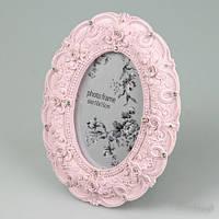 """Рамочка для фотографии """"Орнамент"""" 10х15 см, цвет розовый"""
