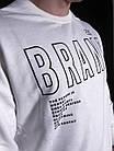 Мужской свитшот White Brand, фото 3
