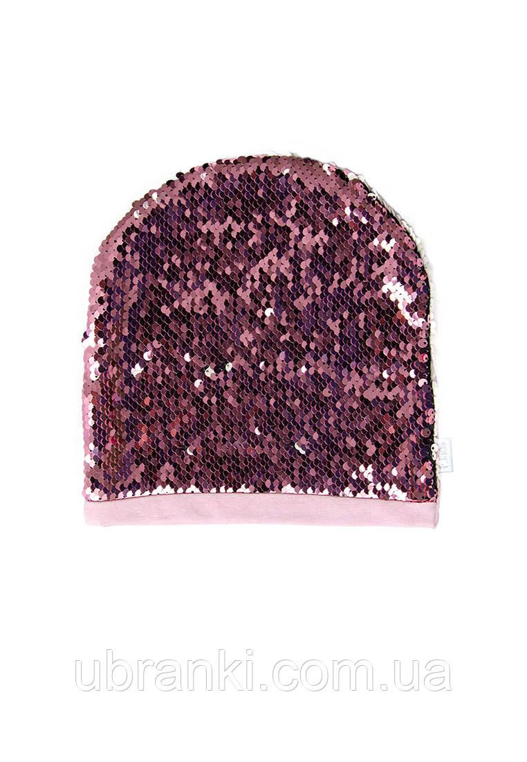 Демісезонна шапочка для дівчинки