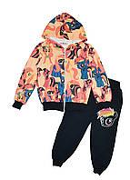 Спортивный костюм на байке детский (брюки, кофта) My Little Pony