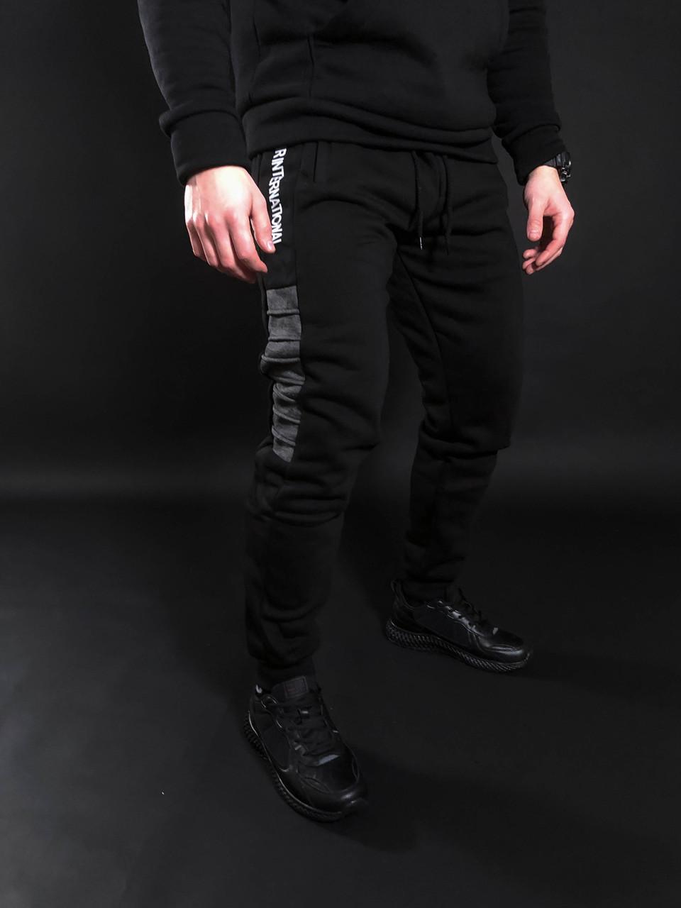 Мужские зимние  спортивные штаны International