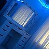 Стіл для макіяжу з дзеркалом і висувними ящиками, дзеркало з підсвічуванням, фото 2