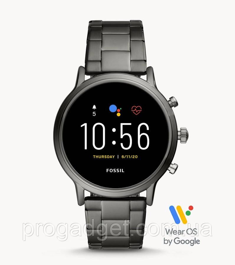 Смарт часы Fossil Gen 5 HR Smartwatch нержавеющая сталь коллекция The Carlyle HR  FTW4024 Wear OS